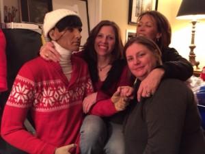 Chauncey Heintz & Suzanne Heintz with filmmakers Katherine De Francis & Karen Whitehead Copyright Imitating Life 2015