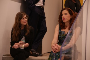 """Fellow Spinsters Kate Bolick and Suzanne """"in conversation."""""""