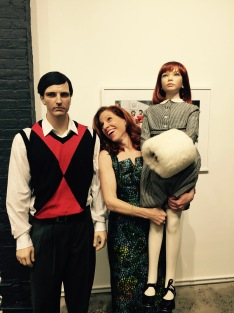 The artist and her photography 'family' ready for New York art gallery show